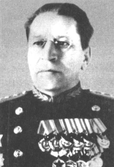 Командующий войсками ДВО М.А.Пуркарев