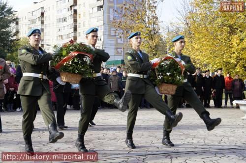 Цветы полководцу