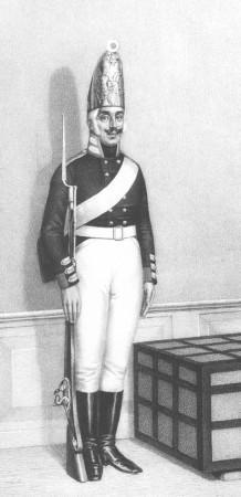 Гренадер Лейб-гренадерского полка. 1802—1805 гг.