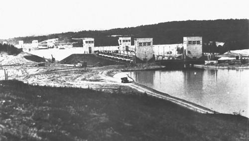 Канал им. Москвы, шлюз 1937 г.