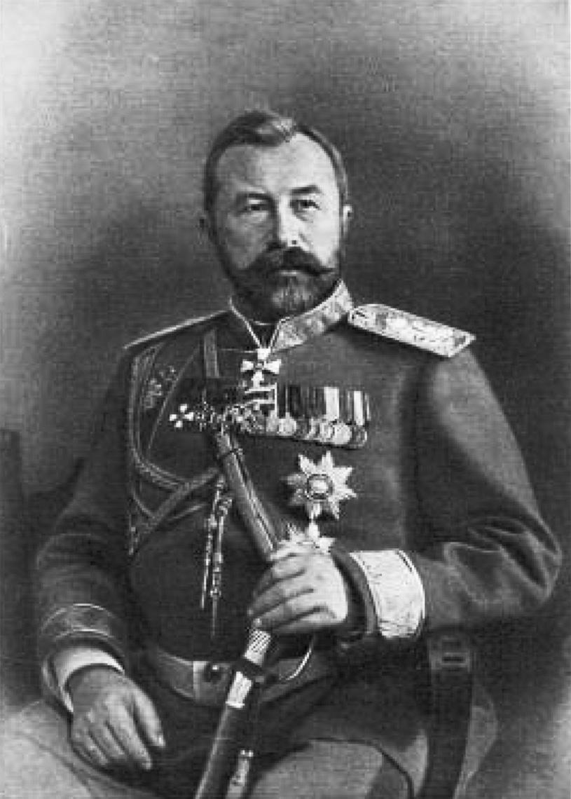 Командующий Маньчжурской армией, главнокомандующий вооружёнными силами на Дальнем Востоке генерал от инфантерии А.Н. Куропаткин