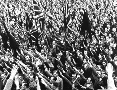 Митинг британских фашистов