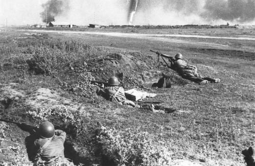 Один из боёв на подступах к Херсону 1941 г.