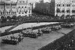 Войска на празднике коронации Николая II в Москве 1896 г.