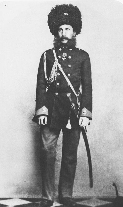 Командир 44-го драгунского Нижегородского полка граф И.Г. Ностиц 1860 г. ГА РФ