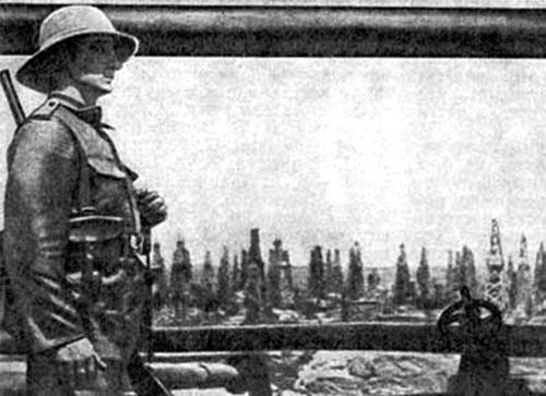 Британские войска в Баку