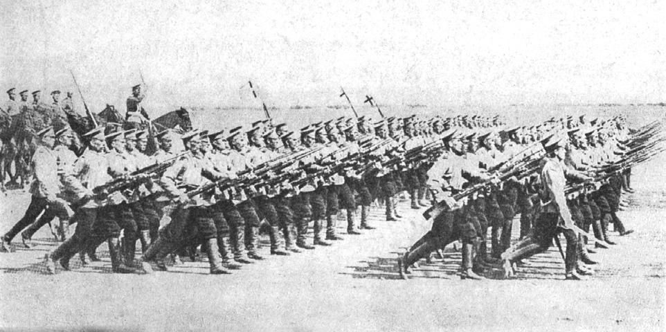 Мобилизация русской пехоты