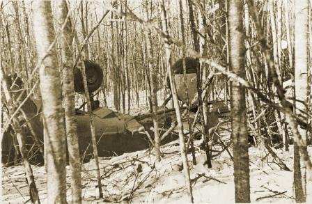 ЛаГГ -3 В.В. Силантьева. Февраль 1942 г.