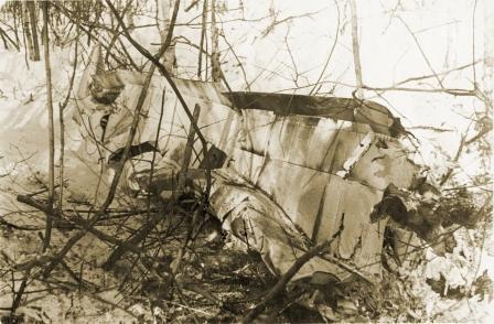 Обломки «Юнкерса». 1942 год