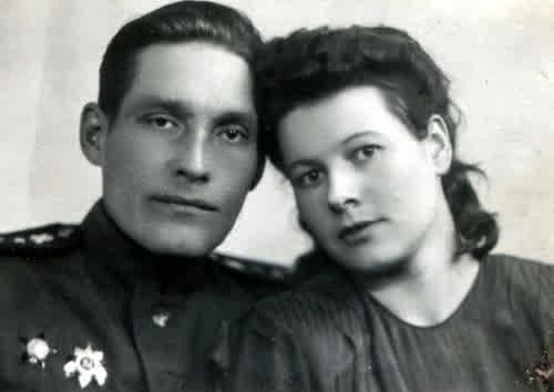 Фотографии моих родителей.