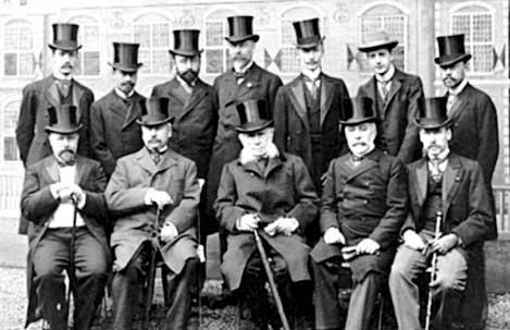 Русская делегация на 1-й Гаагской конференции 1899 г.
