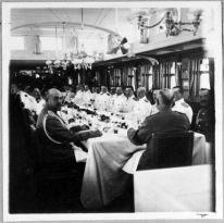 Обеденный салон императорской яхты «Штандарт»
