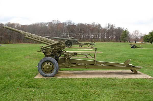 Американская 75-мм пушка М1Е1