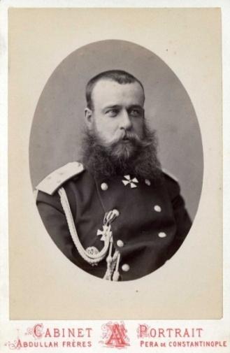 8. Генерального штаба подполковник М.Д. Скобелев – Георгиевский кавалер, 1873 г.