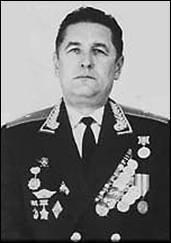 Командир 51-й ракетной дивизии, генерал-майор И.Д. Стаценко