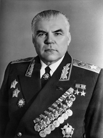 Рис. 12. Министр обороны СССР (1957-1967), Маршал Советского Союза Р.Я. Малиновский