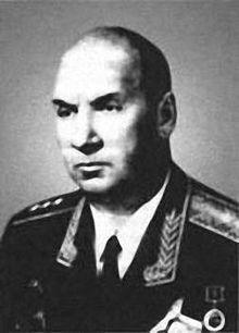 Рис. 13. Генерал-полковник П.Б. Данкевич –  заместитель Главнокомандующего  РВСН по боевой подготовке   (1963-1974 гг.)
