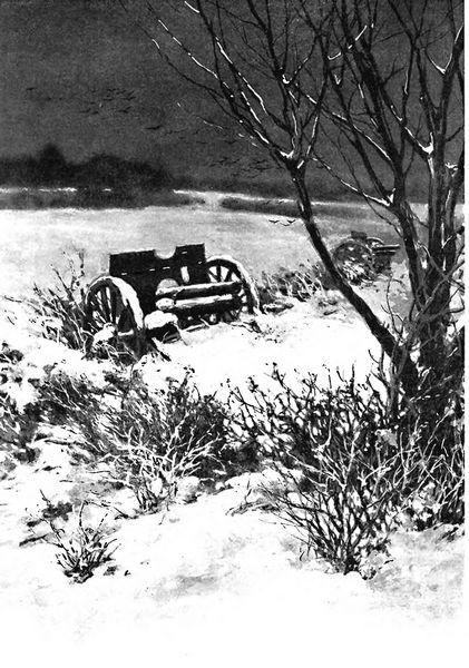 Подбитые и взятые германские орудия
