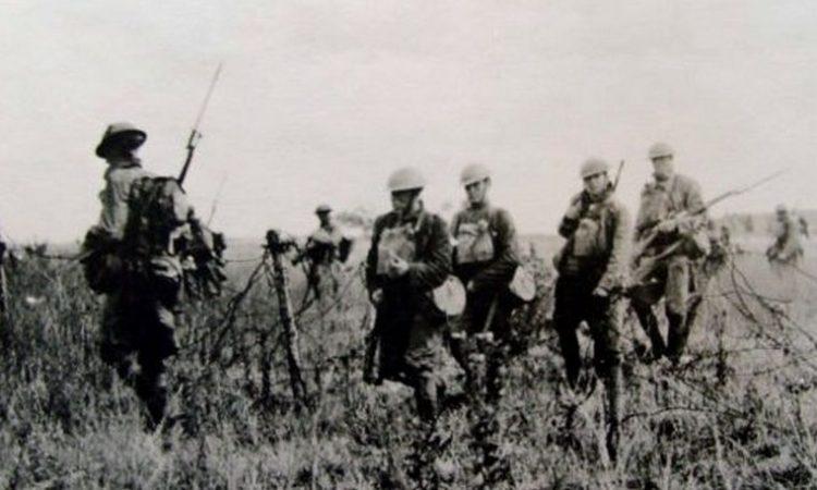 Американские пехотинцы.