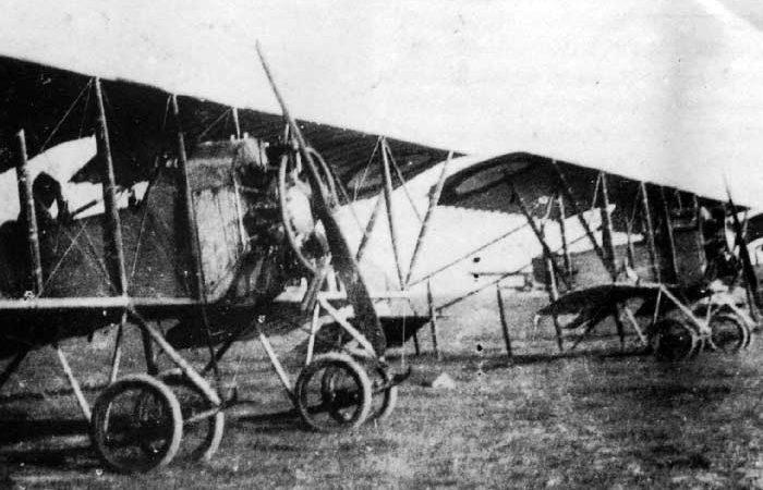 Кодрон G 3. Сентябрь 1917 г.