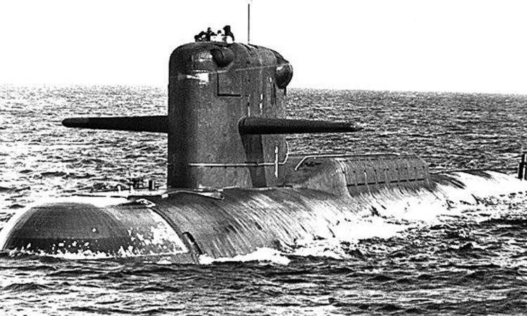 Подводная лодка проекта 667А