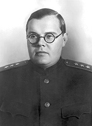Начальник Главного политического управления Красной армии (1942—1945 гг.) А.С. Щербаков