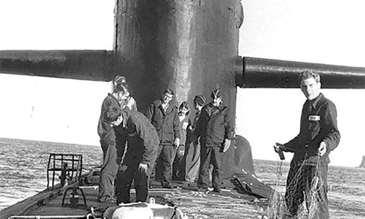 Подводный атомоход с баллистическими ракетами «К-252» проекта 667А