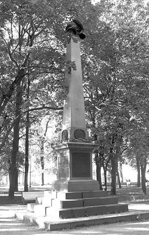 Памятник броненосцу «Император Александр III» (установлен в Санкт-Петербурге, Никольская пл., 1908 г.)