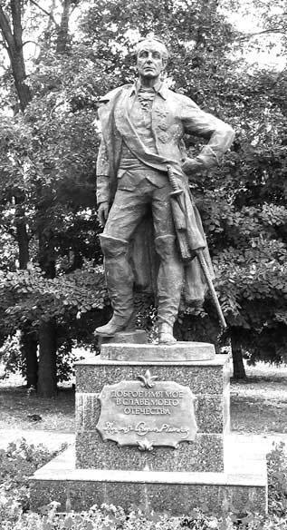 Памятник А.В. Суворову в Ульяновске (скульптор О.А. Клюев), открыт 24 ноября 2011 г.