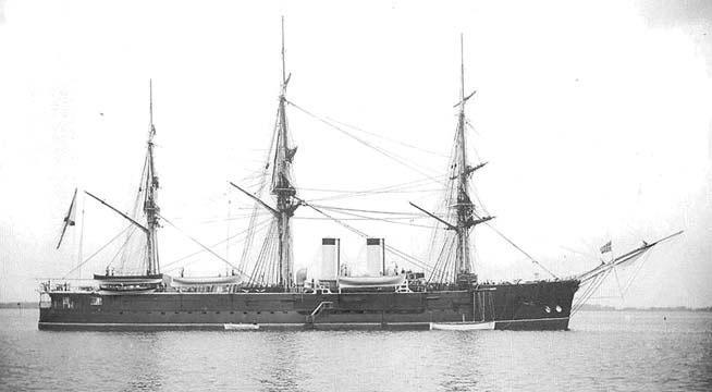 Полуброненосный фрегат «Генерал-Адмирал»