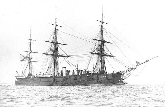Полуброненосный фрегат «Минин»