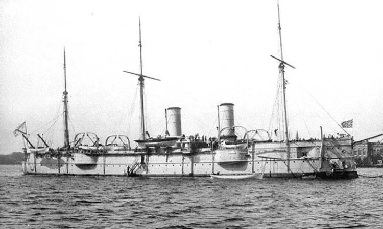 Полуброненосный фрегат «Владимир Мономах»