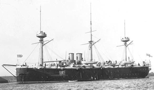Английский броненосный крейсер «Нельсон»