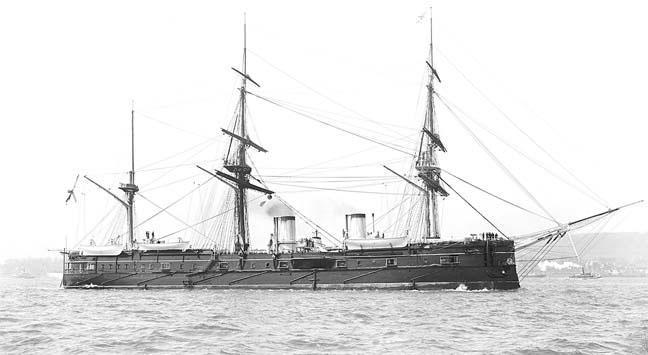 Полуброненосный фрегат «Дмитрий Донской»