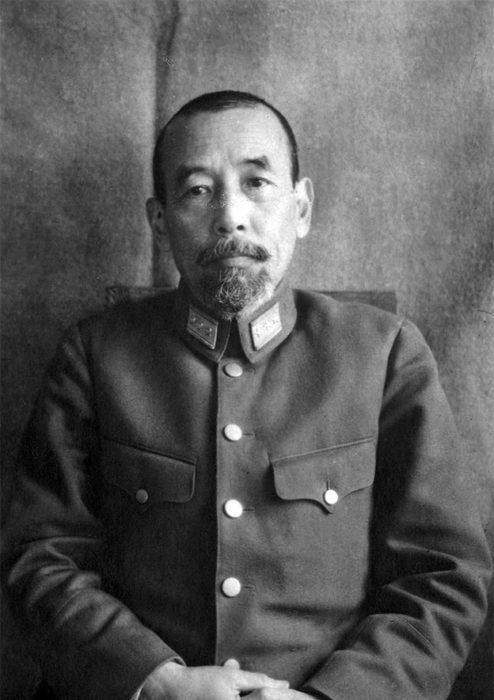 Командующий Квантунской группировкой войск генерал армии О. Ямада