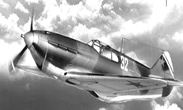Самолёт ЛаГГ-3 (тип самолёта, на котором совершал полёты Ф.А. Семяненков)