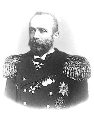 Вице-адмирал Э.Н. Щенснович.