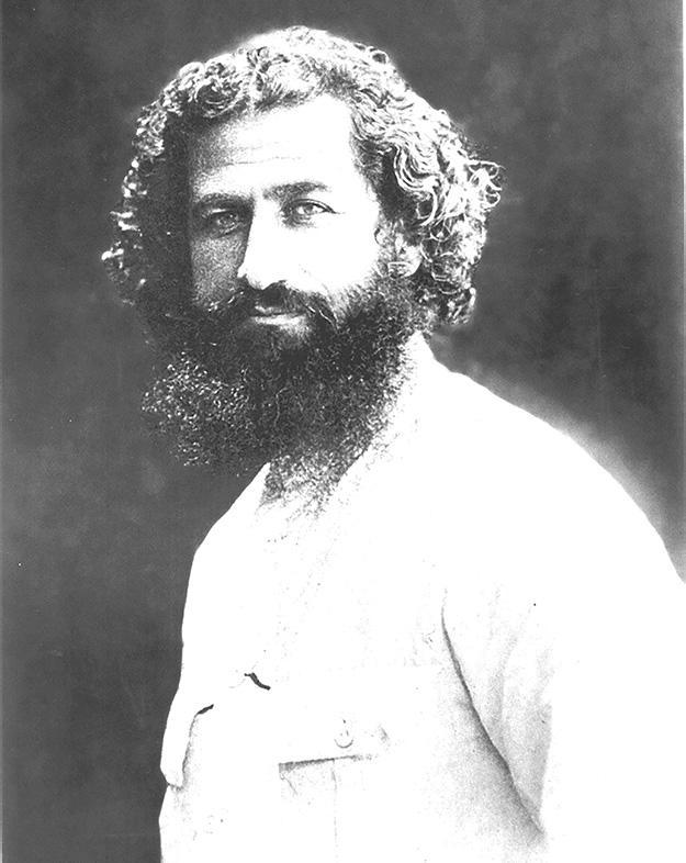 Председатель СНК Персидской Советской Республики Мирза Кучек-хан 1920 г.