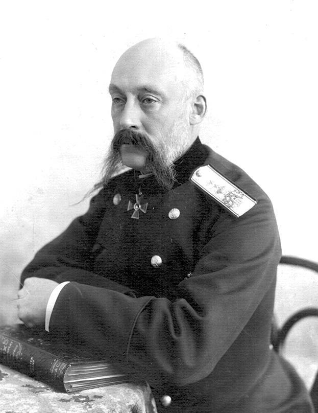 Академик Н.А. Вельяминов 1914 г. Фонды Военно-медицинского музея