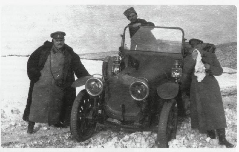 Труженик войны – автомобиль Руссо-Балт. С 24/40. 1914 г.