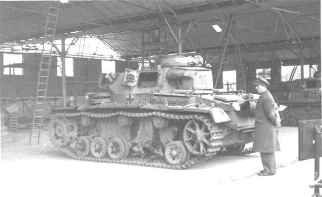 Германская военная техника в британском учебном центре