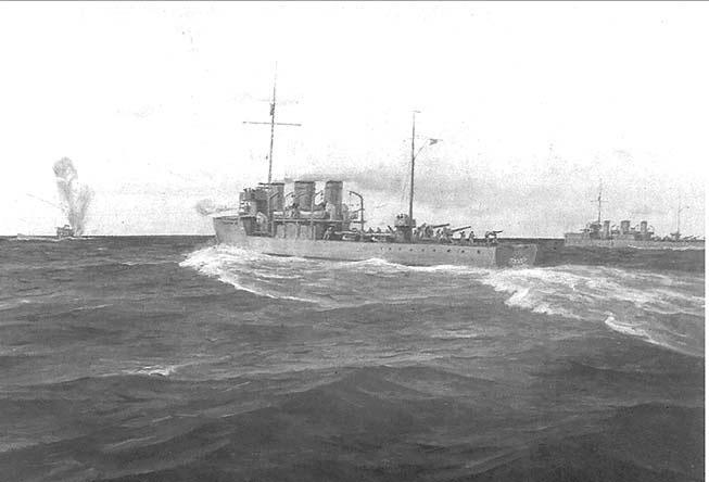 Потопление английской подлодки L-55