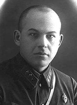 Заместитель наркома внутренних дел СССР В.В. Чернышёв
