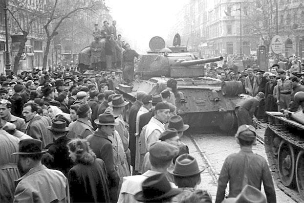 Венгерское восстание 1956 г.