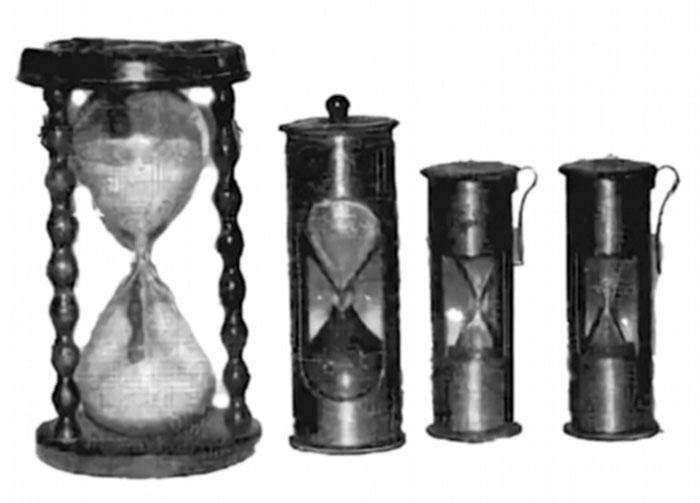 Набор корабельных склянок XVIII в.