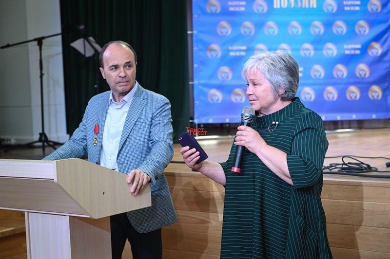 Марина Владимировна Запорина рассказывает о Романовских чтениях в Осташёво
