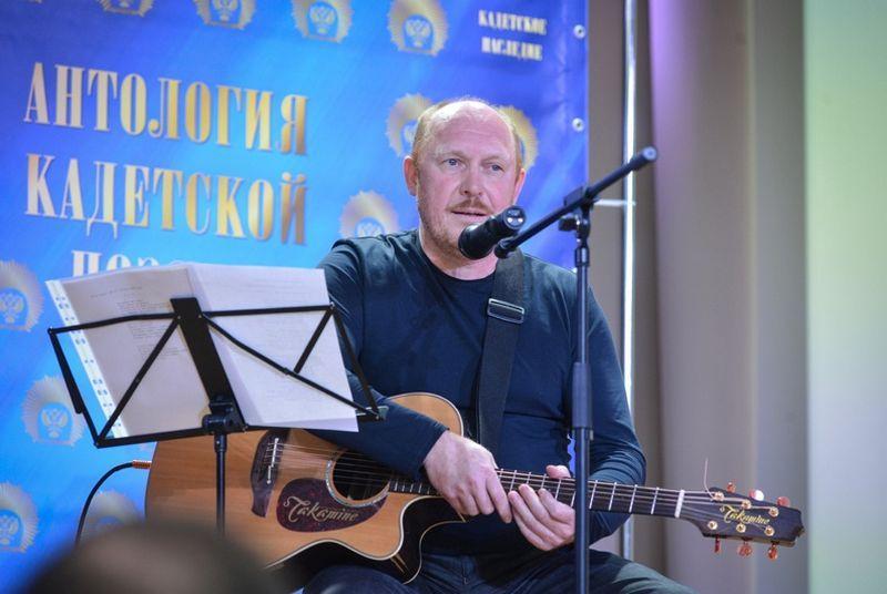 Поэт и композитор Андрей Васильевич Алешин