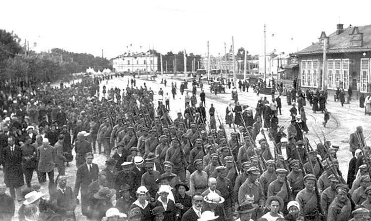 Чехословацкие интервенты в Казани, 1918 г.