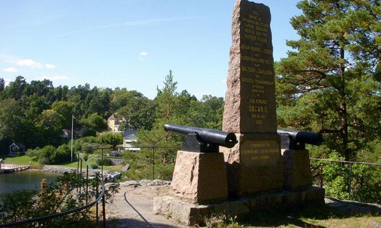 Памятник, посвящённый битве при Стекете. Современное фото.