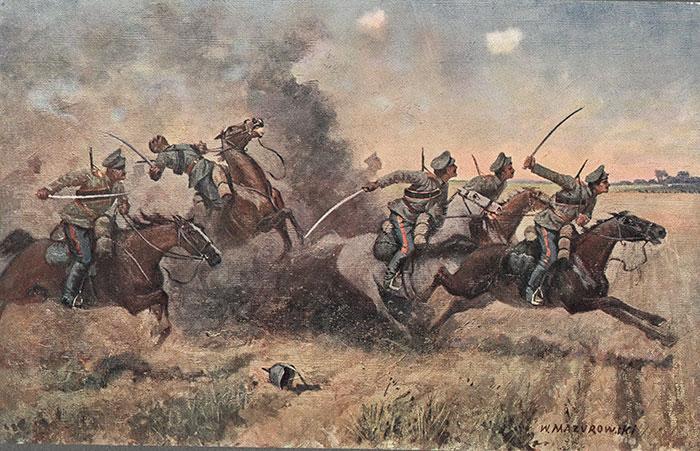 Баламутовка — Ржавенцы: подвиг III конного корпуса 27 апреля 1915 года